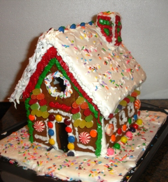 How to make a real, edible GingerBread House
