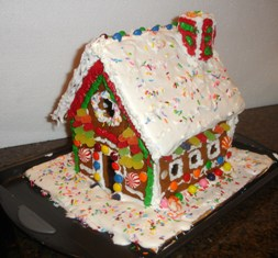 How to make a real edible gingerbread house for How do you make a gingerbread house