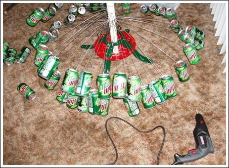 how to make a soda can pipe