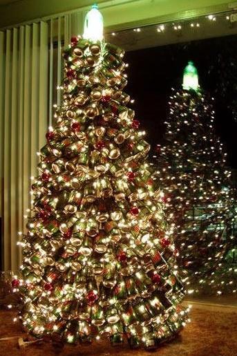 (aka, How to Make the Mountain Dew Christmas Tree) - How To Make A Mountain Dew Soda Can Christmas Tree: The Ultimate